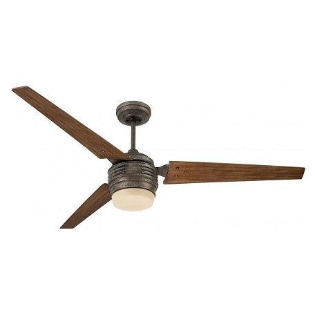 Emerson Fans Two Light Vintage Steel Ceiling Fan