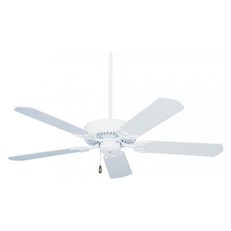 Emerson Fans Appliance White Summer Night 52in. 5 Blade Ceiling Fan - Blades Included