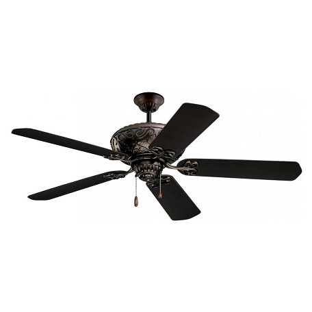 Emerson Fans Oil Rubbed Bronze Devonshire 52in. 5 Blade Ceiling Fan - Blades Included