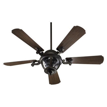 Quorum Three Light Baltic Granite Outdoor Fan