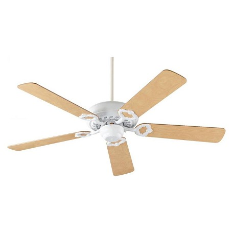 Quorum Studio White Ceiling Fan