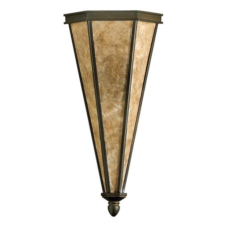 Quorum Two Light Oiled Bronze Wall Light