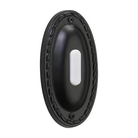 Quorum Old World Door Bell Black 7 308 95