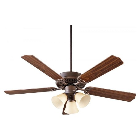 Quorum Three Light Oiled Bronze Fan Motor Without Blades