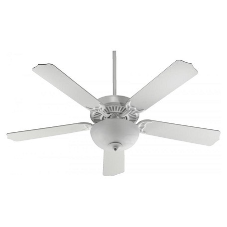 Quorum Two Light Studio White Fan Motor Without Blades