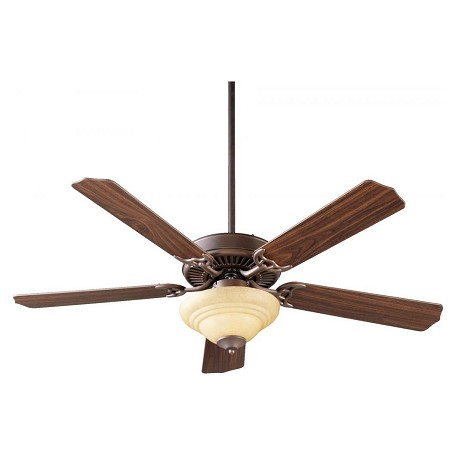 Quorum Two Light Oiled Bronze Fan Motor Without Blades