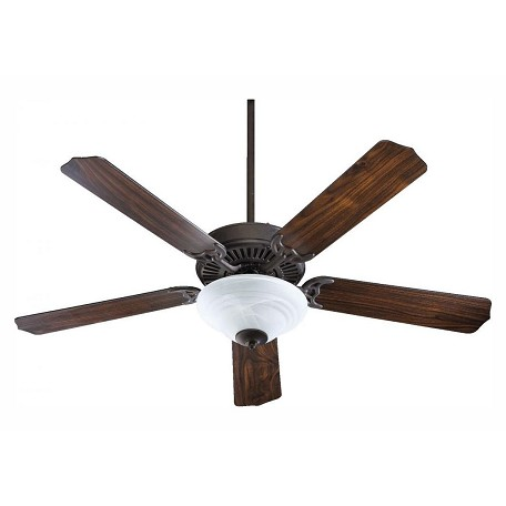 Quorum Two Light Toasted Sienna Fan Motor Without Blades