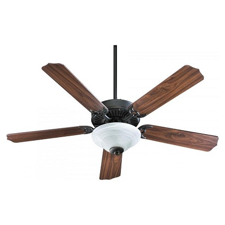 Quorum Two Light Old World Fan Motor Without Blades