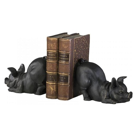Cyan Designs Old World 4.5in. Piggy Bookends