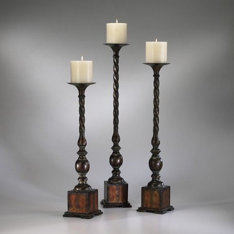 Cyan Designs Rust with Verde 29.75in. Large Quaker Candleholder