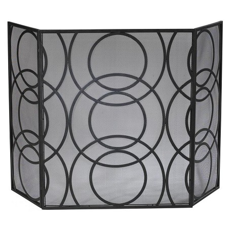 Cyan Designs Old World 30.5in. Orb Fire Screen