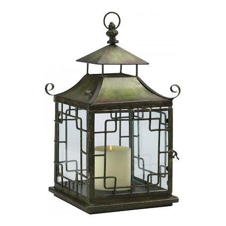 Cyan Designs Verde 17.5in. Pagoda Candle Lantern