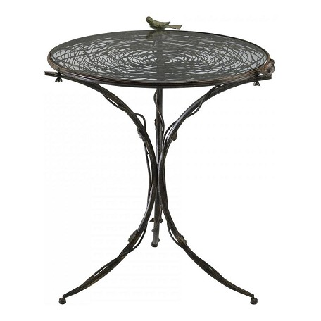 Cyan Designs Muted Rust 31.5in. Bird Bistro Table
