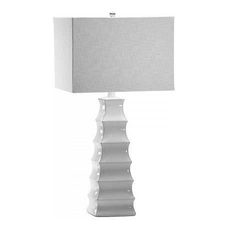 Cyan Designs White 28.25in. Emily Lamp