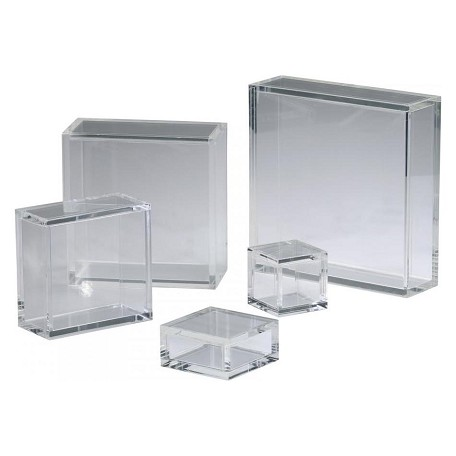 Cyan Designs Clear 3in. 6X6 Square Acrylic Pedestal