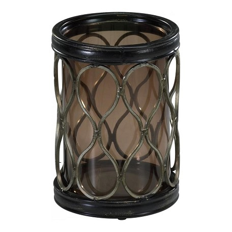 Cyan Designs Mystic Gold 7.75in. Small Gold Mesh Candleholder
