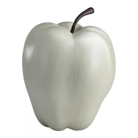 Cyan Designs White 15.72in. Oversized Apple