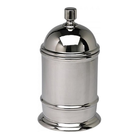 Cyan Designs Chrome 16in. Large Chrome Canister