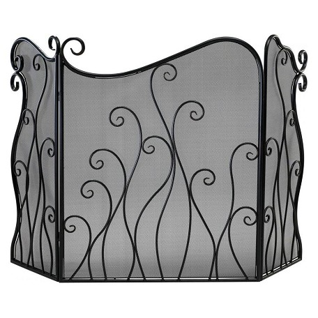 Cyan Designs Bronze 31.5in. Evalie Fire Screen
