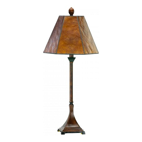 Cyan Designs Brown 28.5in. Mica Buffet Lamp from the Lighting Collection