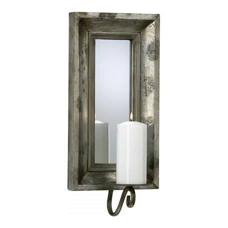 Cyan Designs Estruscan Slate 19.5in. Abelle Candle Mirror Sconce