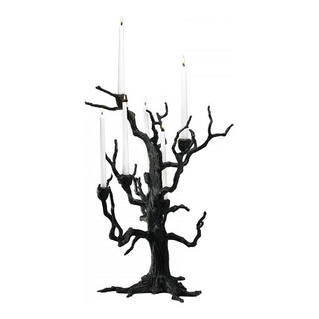 Cyan Designs Old World 25in. Tree Table Candleholder