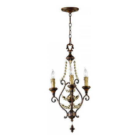 Cyan Designs 30.5in. Meriel Three Light Chandelier from the Lighting Collection