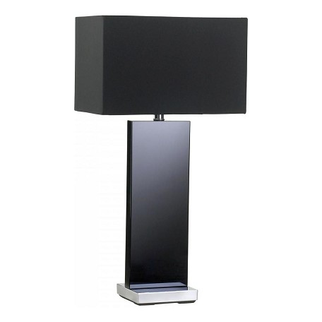Cyan Designs Black Crystal / Black 26.75in. Vista Table Lamp from the Lighting Collection