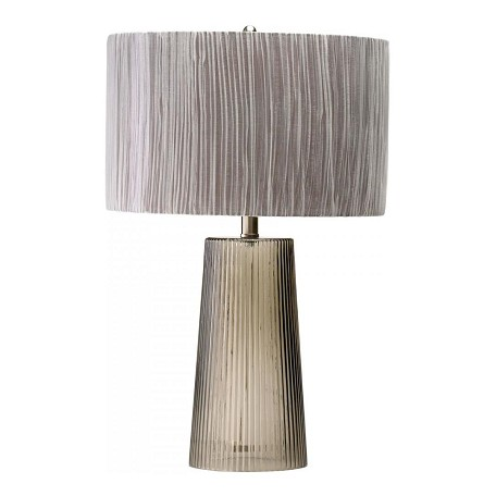 Cyan Designs Smoked Gray 25in. Club Table Lamp from the Lighting Collection