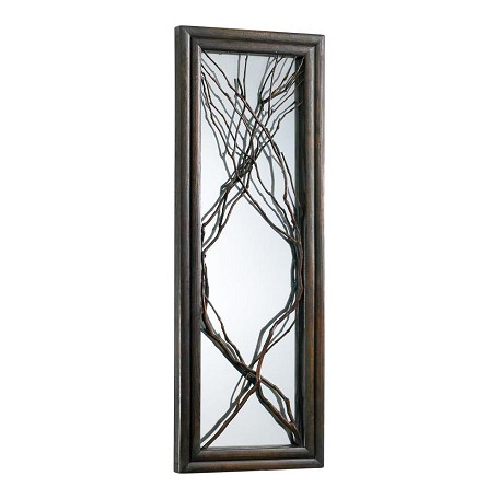 Cyan Designs Rosewood Branch Rectangular Mirror