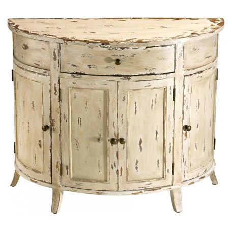 Cyan Designs Antique White Gable Distressed Chest