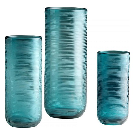 Cyan Designs Aqua 14.5in. Large Libra Vase