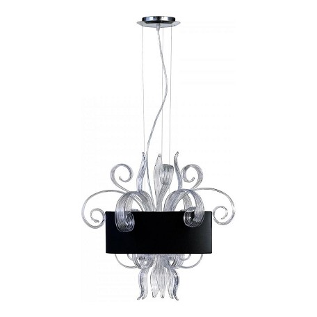 Cyan Designs Clear Glass 3 Light Down Lighting Pendant from the Cassina Collection