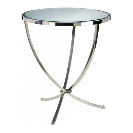 Cyan Designs Stainless Steel Nuovo Foyer Table