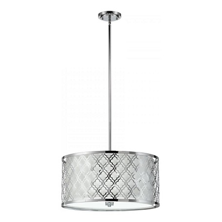 Cyan Designs Chrome Dauphine 5 Light Full Size Pendant