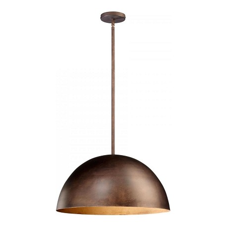 Cyan Designs Oiled Bronze Carson 1 Light Full Size Pendant