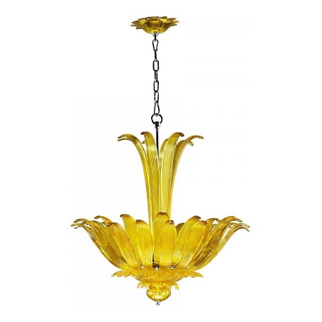 Cyan Designs Yellow Moritz 4 Light Full Size Pendant
