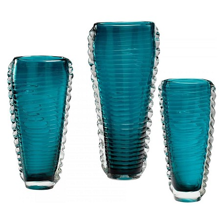 Cyan Designs Cyan Blue 12.5in. Medium Dollie Vase