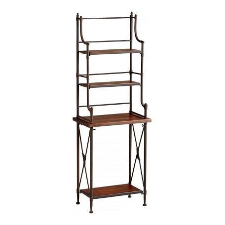 Cyan Designs Rustic Iron Sydney Bakers Rack