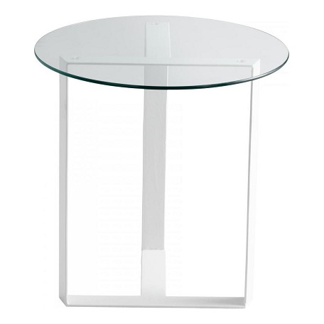 Cyan Designs White Frazer Accent Table