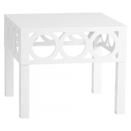 Cyan Designs White Balbo Accent Table