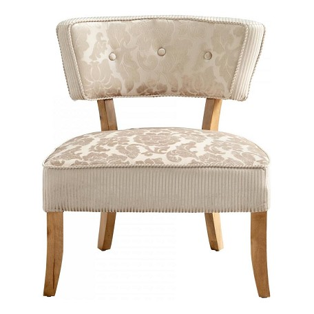 Cyan Designs Tan / Ivory Miss Sweets Chair