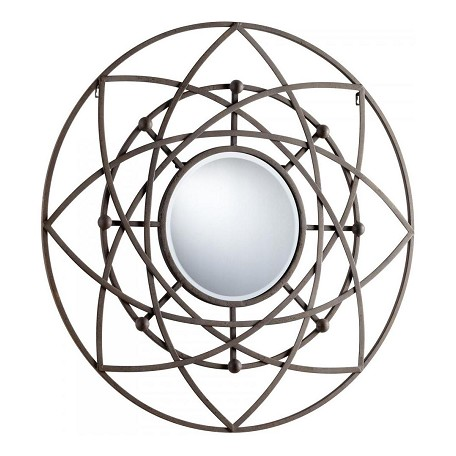 Cyan Designs Rustic Robles Rounded Mirror