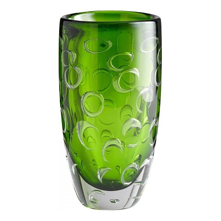 Cyan Designs Emerald Green 11.75in. Home Accent Vase