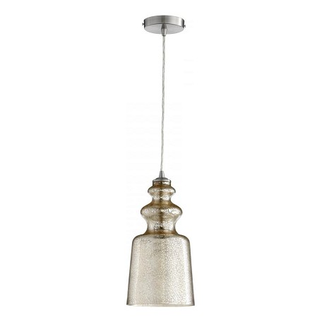 Cyan Designs Satin Nickel Leone 1 Light Mini Pendant