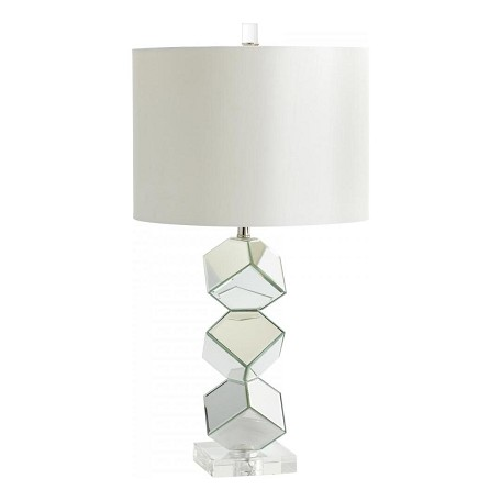 Cyan Designs Mirrored Glass 1 Light Illusion Table Lamp