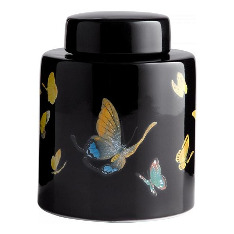 Cyan Designs Multi-colored 7.88in. Large Painted Lady Container