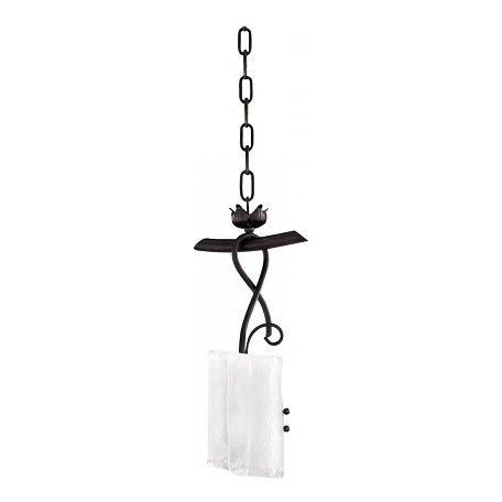 Cyan Designs Golden Graphite 16in. One Lamp Pendant from the Somerset Collection