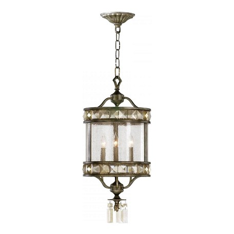 Cyan Designs St. Regis Bronze 26in. Three Lamp Entry from the Buckingham Collection