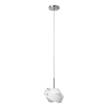 Dainolite Single Pendant W/Frosted Glass